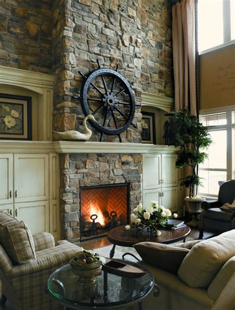 rustic fireplace images 100 fireplace design ideas for a warm home during winter