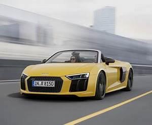 Audi R8 Fiche Technique : fiche technique audi r8 spyder ii 5 2 v10 fsi 540ch quattro s tronic 7 l 39 ~ Maxctalentgroup.com Avis de Voitures