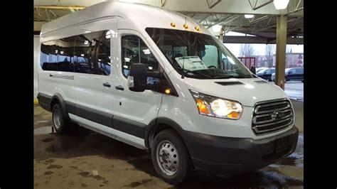 ford transit wagon   high roof xlt passenger van