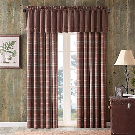 cedar ridge clinton woven tailored window treatment bed