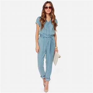 haoduoyi Womens Summer Jeans Denim Jumpsuit Romper Clothes ...
