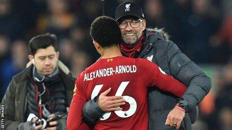 Liverpool's Trent Alexander-Arnold and Jurgen Klopp win ...