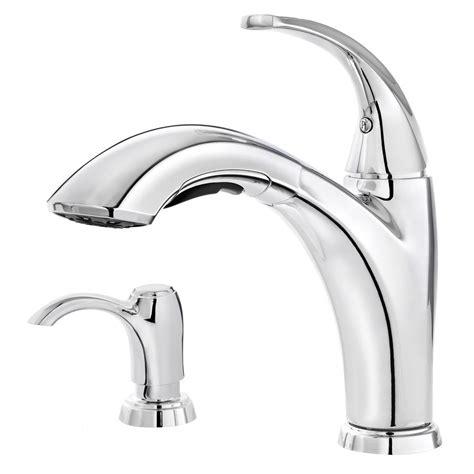 pfister selia kitchen faucet pfister selia polished chrome 1 handle pull out kitchen