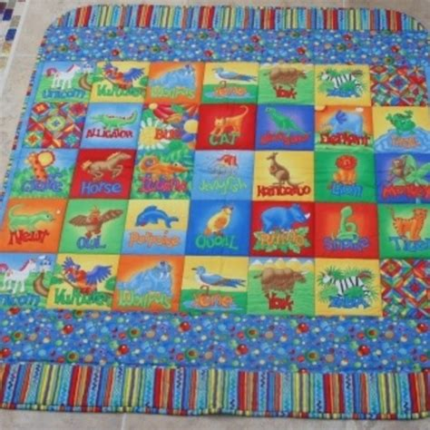 padded floor mats for baby folksy buy quot vibrant alphabet quilted baby play mat