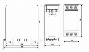 3 Phase Monitoring Relay  Spdt  Phase Failure  Undervoltage  Overvoltage