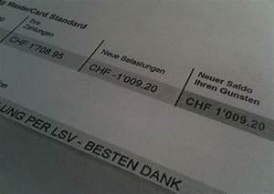 Sparkasse Mastercard Abrechnung : bl guthaben auf der kreditkarte bei swisscard ist auszahlung ausgeschlossen ~ Themetempest.com Abrechnung