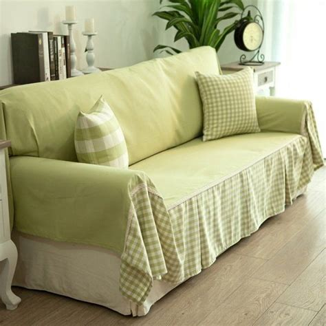 Cheap Slipcovers For Couches And Loveseats by Cheap Diy Sofa Cover Ideas Green Fabrics Decorative