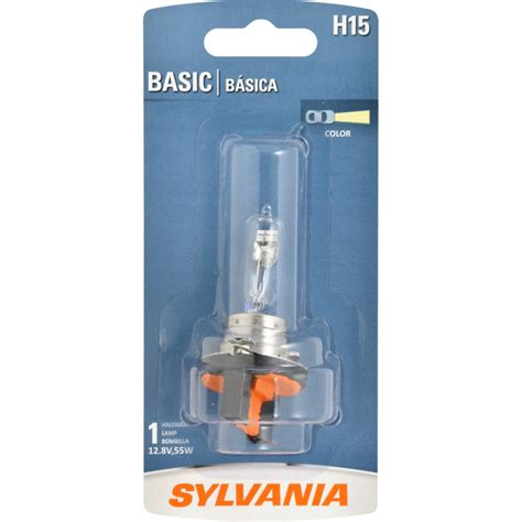 sylvania h9 basic headlight bulb sylvania automotive