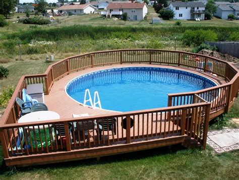 pool deck designs pictures above ground pool deck ideas from wood for relaxation area at home homestylediary com