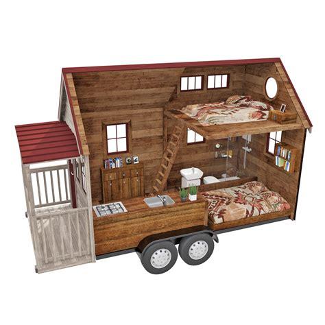 largeur cuisine tiny house houses house maison bois sur roue maison