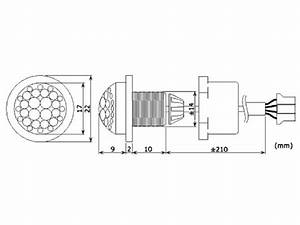 Mini Detector Pir De Movimientos Para Empotrar