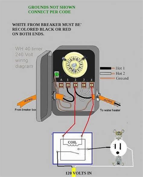 wiring water heater to 240 circuit doityourself community