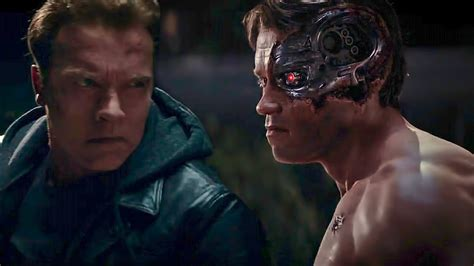 terminator genisys   young arnold fight arnold