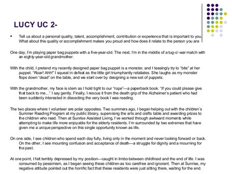 Uc Davis Resume Writing by Affordable Price Vet School Application Personal Statement Exle