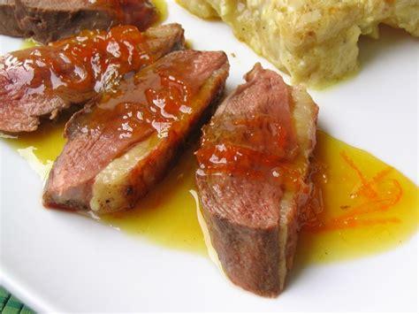 recette de canapé magret de canard à l 39 orange recettes portugaises