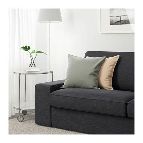 canap cuir ikea kivik three seat sofa hillared anthracite ikea