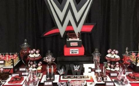 Wild Wwe Birthday Party Ideas Spaceships And Laser Beams