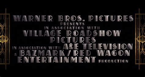 great gatsby  film promotion fonts