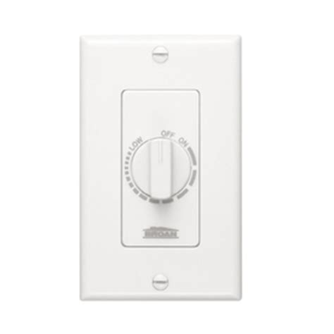 light switch timer lowes shop broan 3 amp white timer activated light switch at