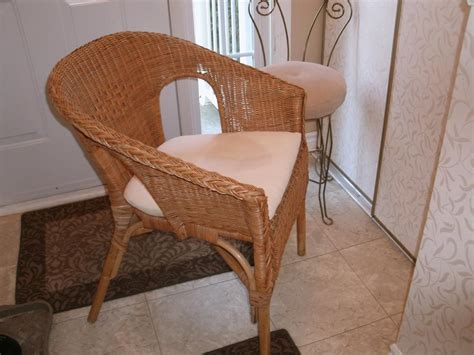 ikea wicker chair with cushion nepean ottawa