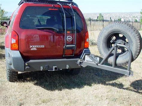 xterra steel rear bumper