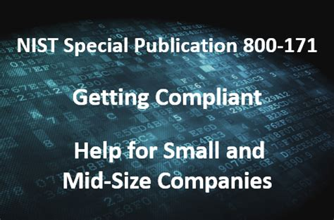nist 800 171 ssp nist 800 171 compliance for small mid sized companies