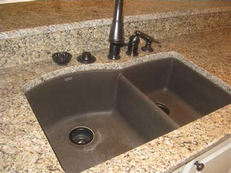 composite granite countertops granite composite sink