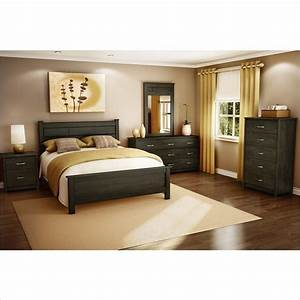 vendome 4 pc bedroom set in ebony contemporary bedroom With bedroom furniture sets york