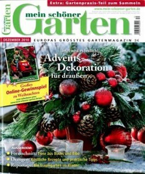 Alles über Die Zeitschrift Mein Schöner Garten Wohnende