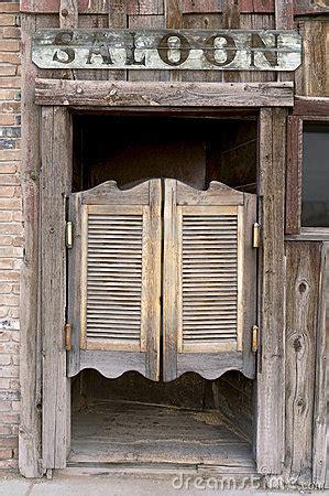 western swinging saloon doors royalty  stock image