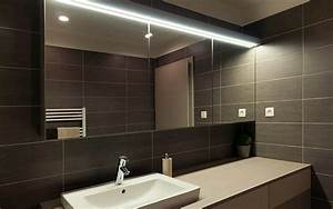dalle led salle de bain free beautiful simple interesting With carrelage adhesif salle de bain avec reglette led blanc chaud