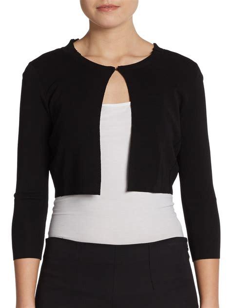 black sweater cropped black sweater shrug sweater jacket