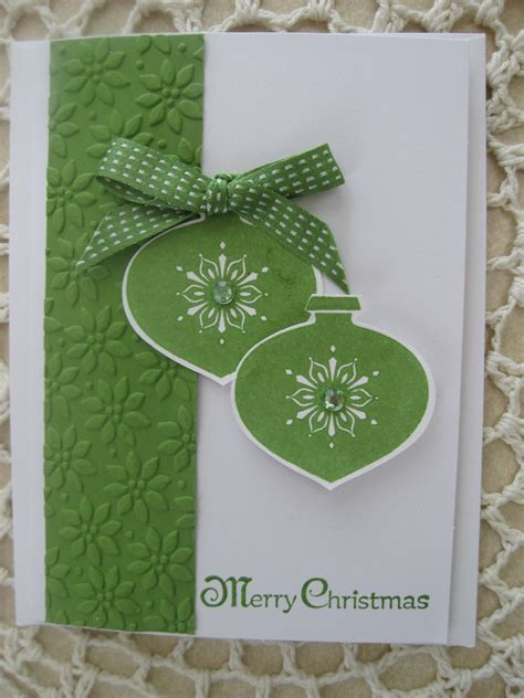 Stampin' Up Handmade Greeting Cardchristmas