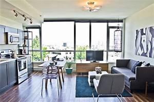 Alle Sitzmöbel In Einem Raum : modernes wohnzimmer einrichten wohn und k chenraum kombinieren ~ Bigdaddyawards.com Haus und Dekorationen