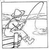 Fishing Rod Pages Boy Tuesday Digital Coloring Template Stamps Fish Digitaltuesday Colouring Boys Sketch Rods sketch template
