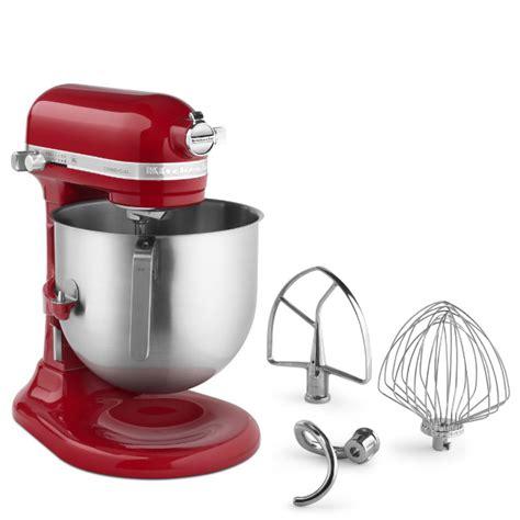 kitchenaid commercial mixer  quarts red jbprincecom