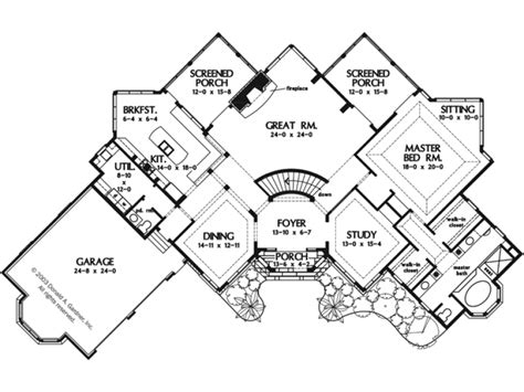 country home plans with porches eplans european house plan uniquely angled walkout