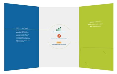 folder design small tri fold  folders  swipely