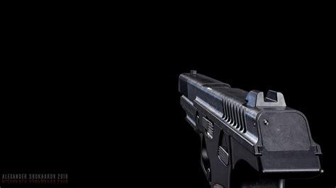 ArtStation - PL-14 - Lebedev Pistol - GameModel   Game Assets