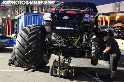 monster truck show in las vegas coverage gt more photos from sema show 2011 motormavens