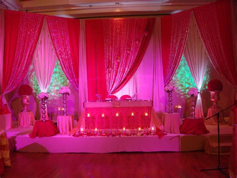 decoration pictures seema manish reception backdrop