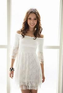 Standesamt Kleidung Damen : kleid mit spitze wei vintage boho party kleid spitze spitzenkleid wei in kleidung ~ Orissabook.com Haus und Dekorationen