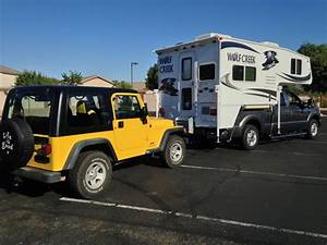 6 Easy Steps To Flat Tow A Jeep Wrangler  U2013 Truck Camper