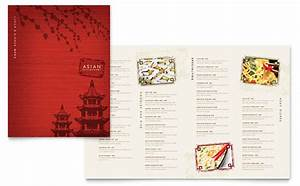 Japan Travel Brochure Template Design