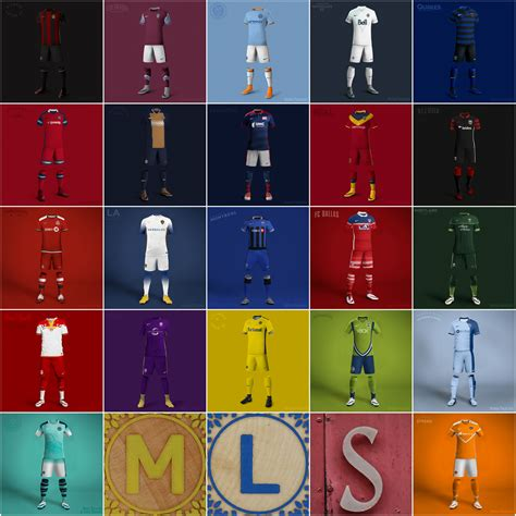 The Football Shirts Book The Connoisseur S Guide What If Mls Clubs Switched Jerseys From Adidas To Nike
