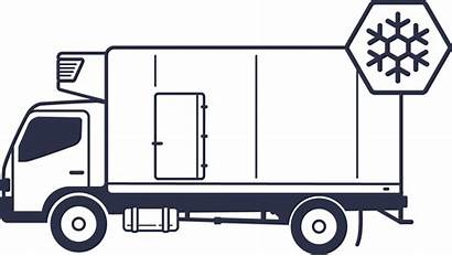 Truck Clipart Jobs Reefer Driving Cold Carrier