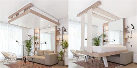 mobilier de cuisine pas cher lit escamotable design bedup par atelier décadrages de