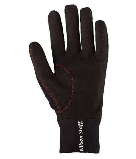 wilson staff mens winter golf gloves pair  golfonline