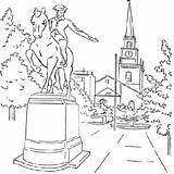 Paul Coloring Pages Revere Logan Sculpture Anycoloring Template sketch template