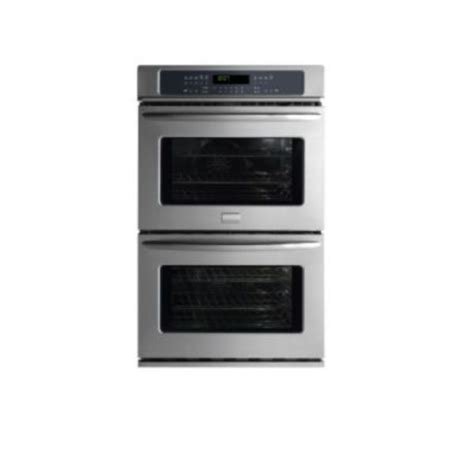 frigidaire gallery fgetkf  double wall oven